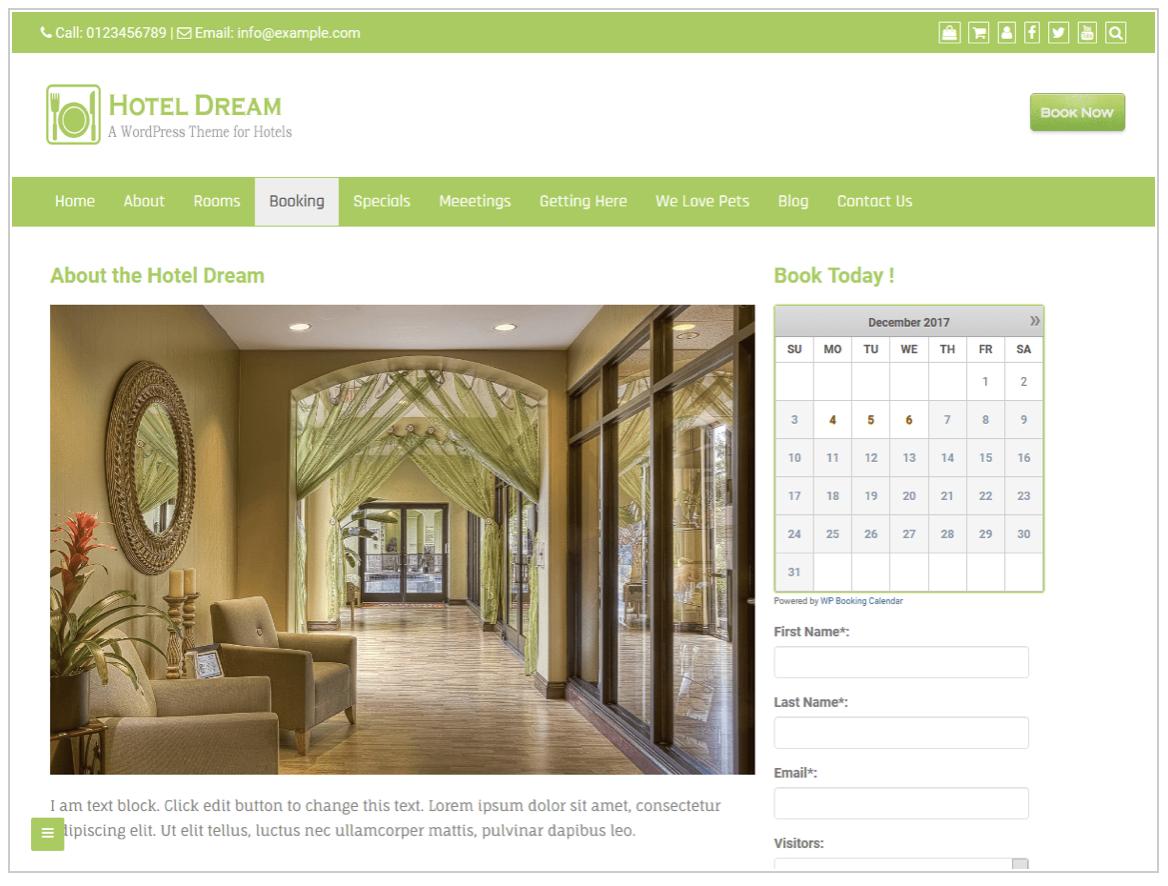 Was macht eine gute Webseite für eine Ferienwohnung aus?