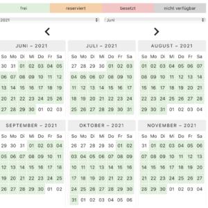 Belegungskalender für Ferienwohnungen Pro Version Wordpress Plugin